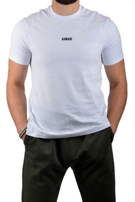 Armani man jersey t-shirt white