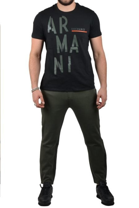 Armani jersey t-shirt black