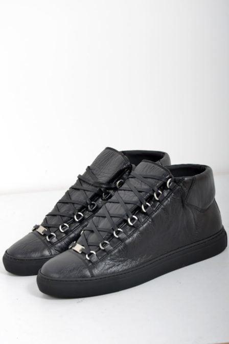 Balenciaga sneakers pelle black