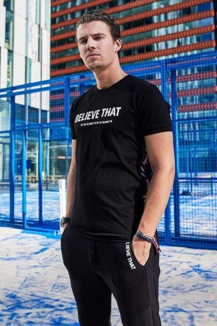 Believe that control t-shirt black