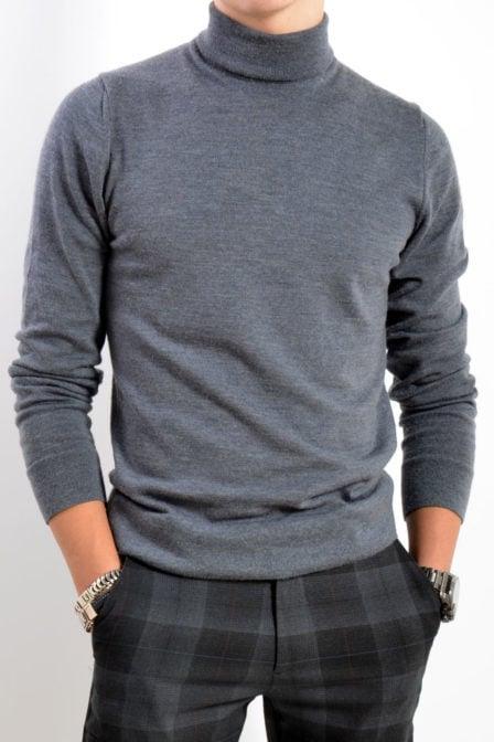 Calvin klein superior wool turtle grey