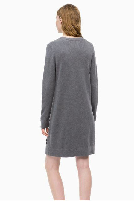 Calvin klein long sleeve sweater mid grey
