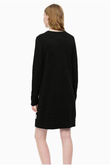 Calvin klein long sleeve sweater black
