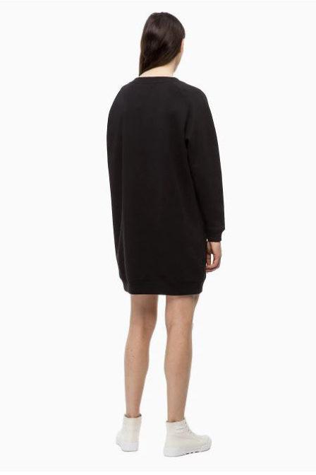 Calvin klein monogram sweatshirt black