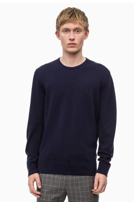 Calvin klein trui donker blauw