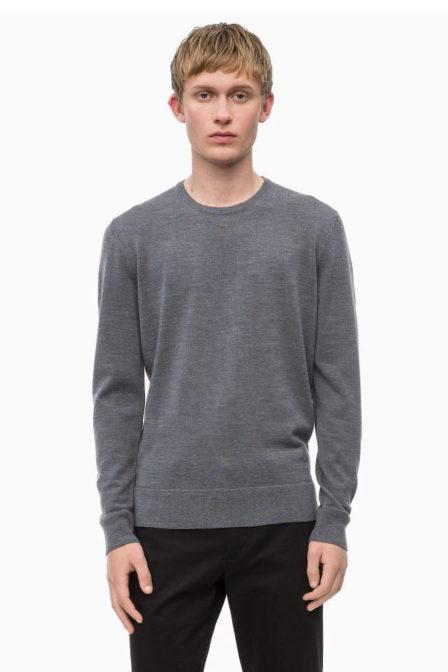 Calvin klein superior wool cew grey