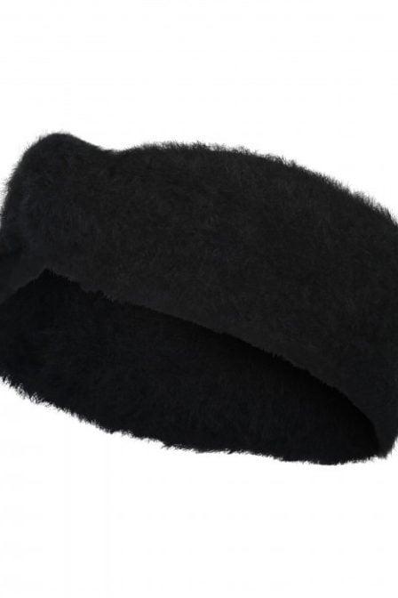Catwalk junkie fuzzy hoofdband zwart
