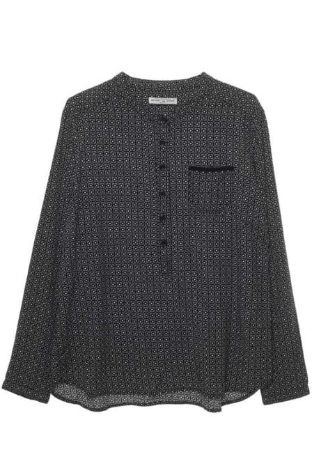 Circle of trust ash blouse graphic nights