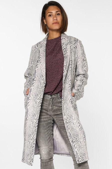 Circle of trust vivi jacket zebra