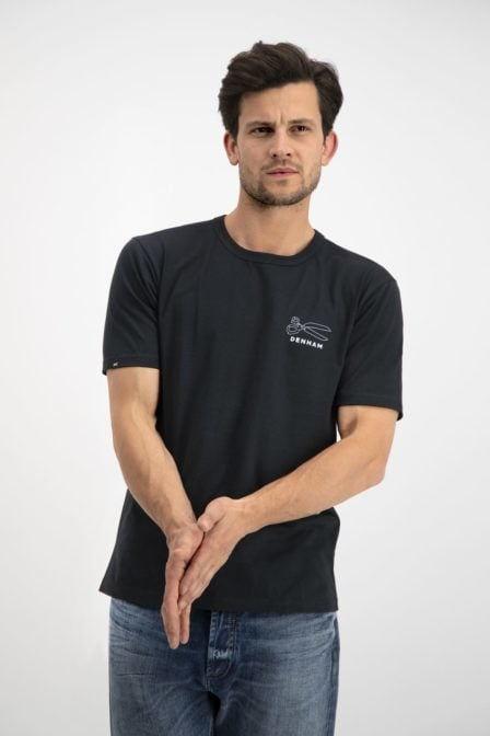Denham dna tee black