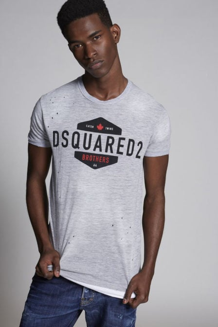 Dsquared brothers t-shirt grijs