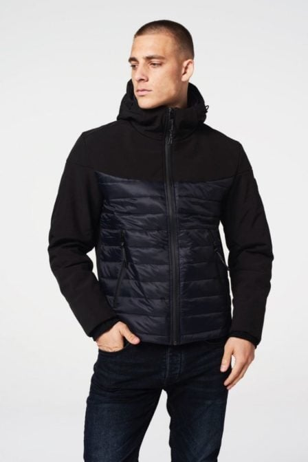 Dstrezzed ski jacket tech shell black