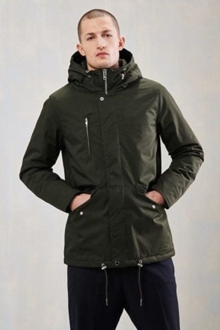 Elvine cornell coat army green
