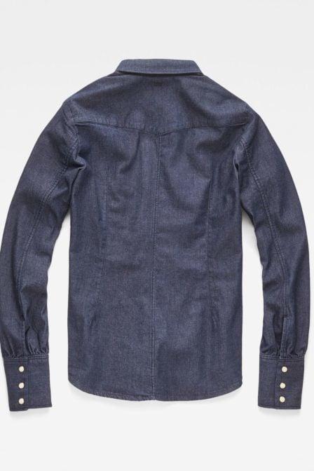 G-star raw tacoma clean slim frill shirt rinsed
