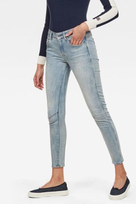 G-star arc- 3d skinny jeans blauw