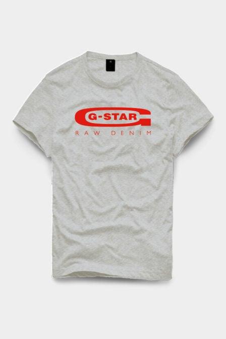 G-star graphic 4 shirt grijs