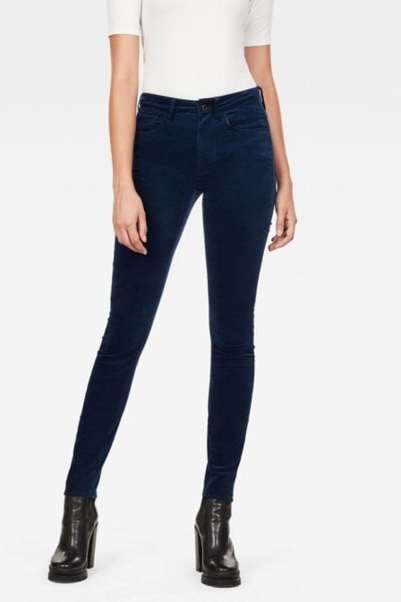 G-star raw high skinny dark pacific