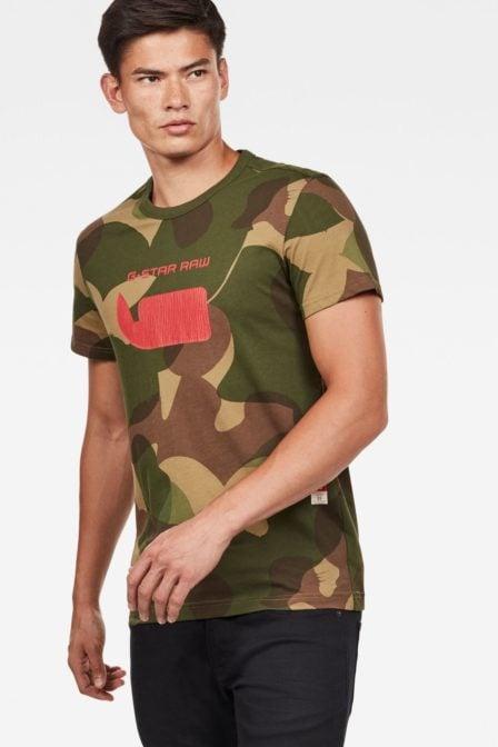 G-star raw graphic mbc regular t-shirt army