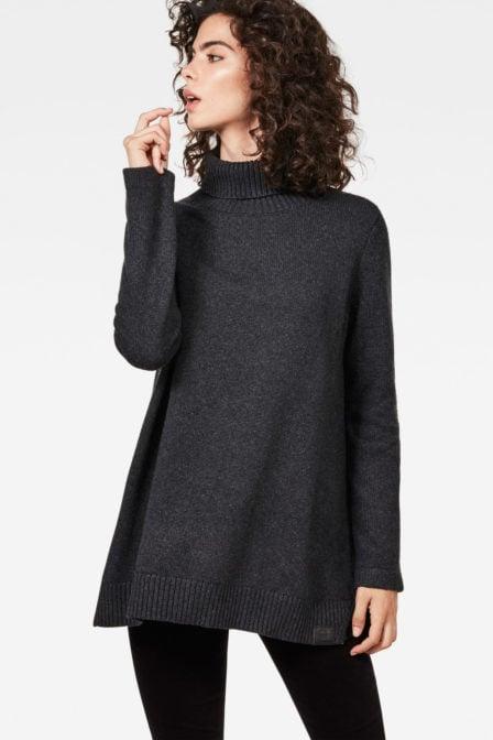 G-star raw turtle knit grey