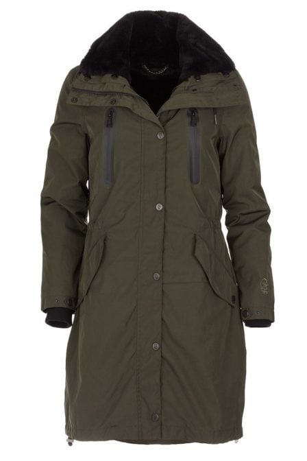 Giacomo coat military green