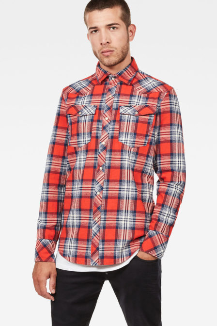 G-star raw 3301 check shirt
