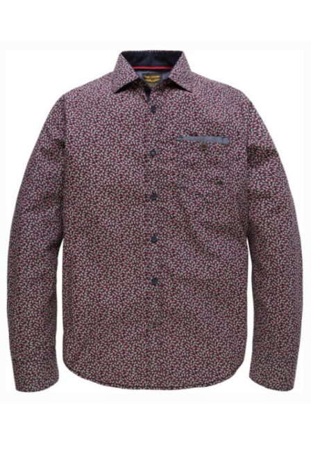 Just brands long sleeve shirt poplin print set salute
