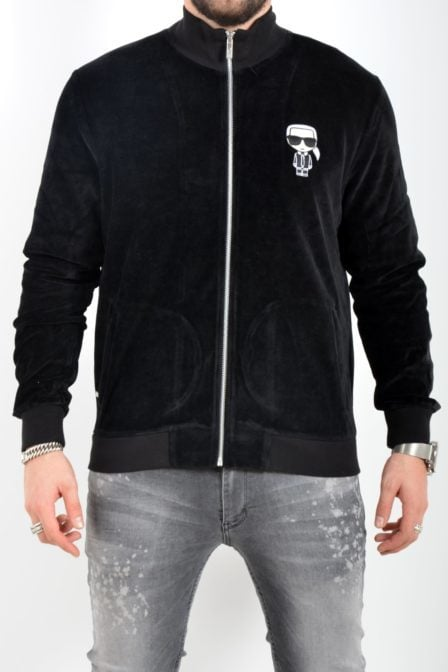 Karl lagerfeld sweatjacket black