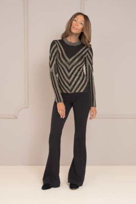 Maria tailor kendall top gold