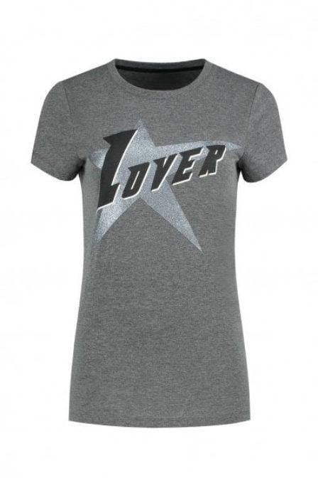Nikkie by nikkie lover t-shirt grijs