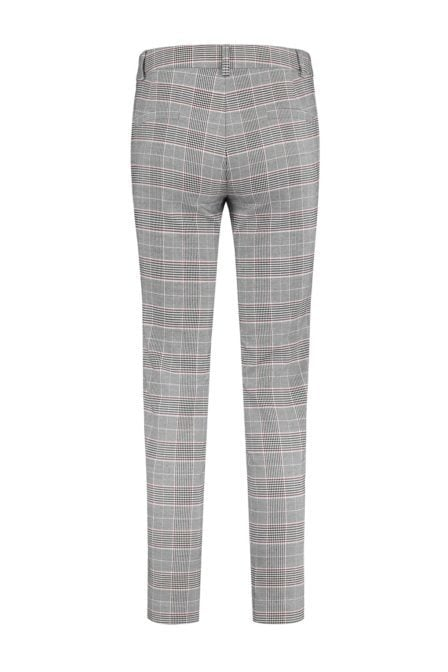 Nikkie luna pants grey check