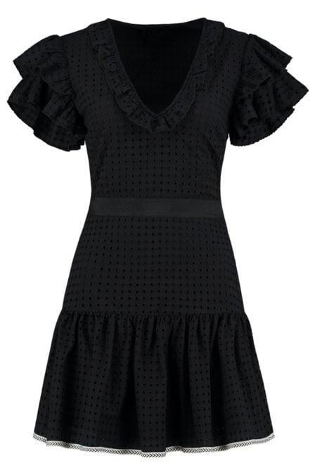 Nikkie lyn jurk zwart