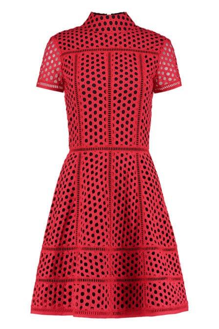 Nikkie rona jurk rood