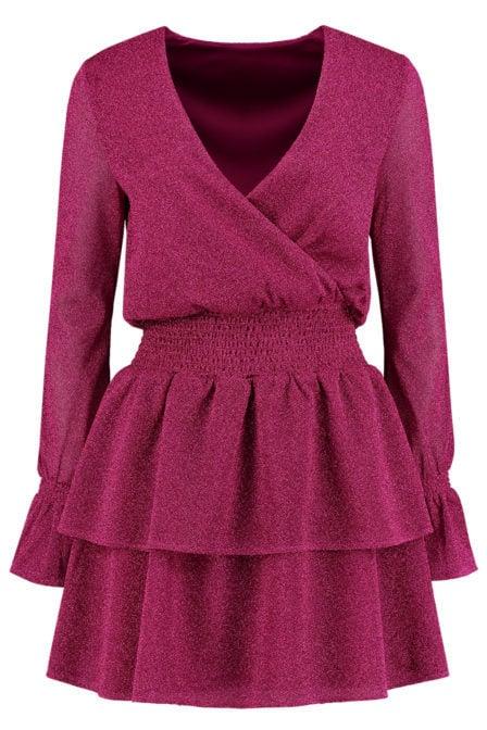 Nikkie ruba jurk roze