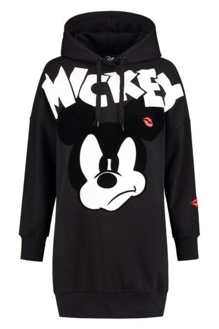 Nikkie mickey sweatdress black