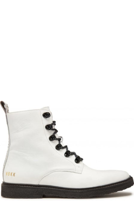 Nubikk lilou rock boots wit