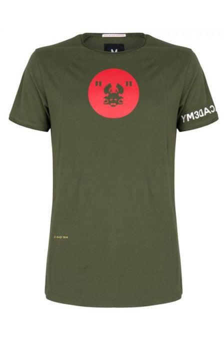 Once we were warriors nox ss t-shirt groen