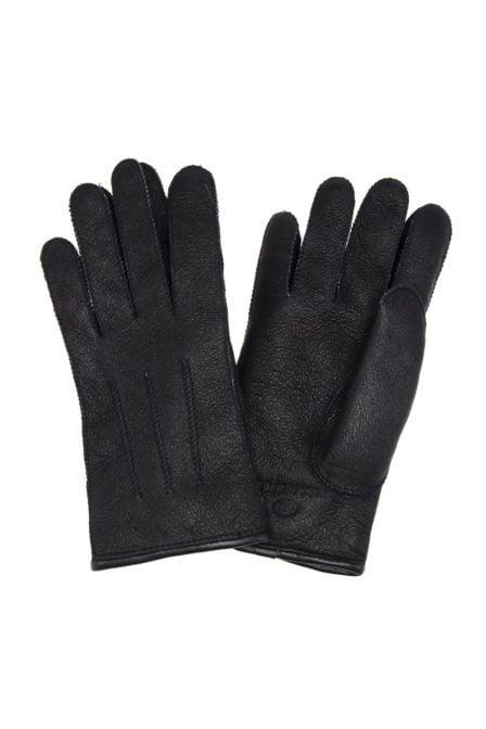 Parajumpers shearling handschoenen zwart