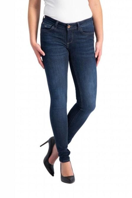 Pure white the jazz jeans blauw
