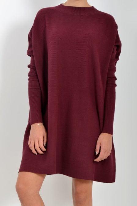 Debby dress 662 burgundy bordeaux 182