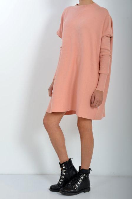 Reinders debby dress dusty pink