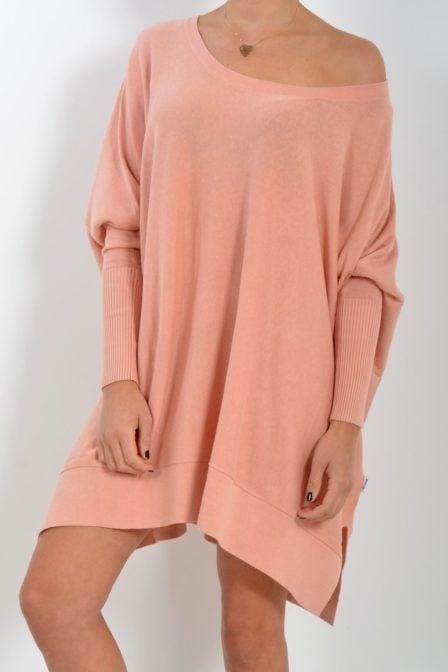 Reinders loesje knitwear short dusty pink