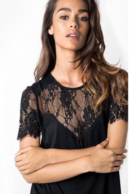 Tigha soma black jurk