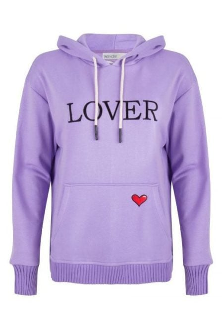 Wanderlust central park hoody lilac