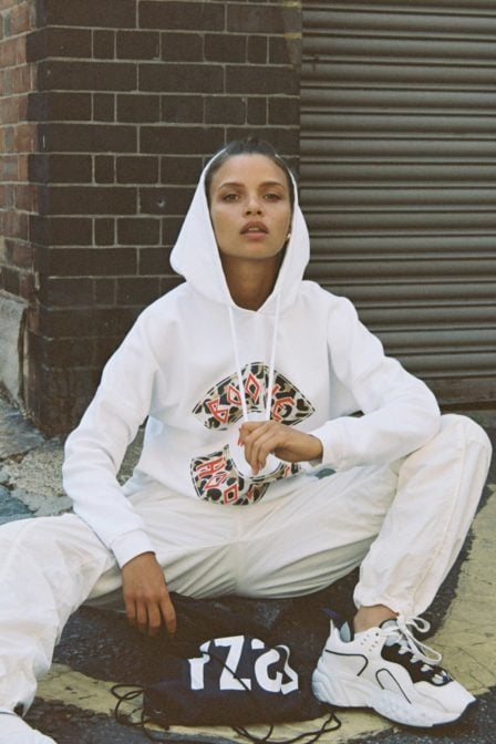 Yeez louise boogie with the hoodie sweat white