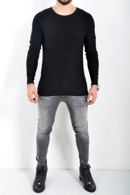Zumo ruston black pullover
