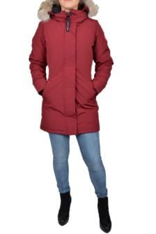 Ladies victoria parka/niagra grape 014