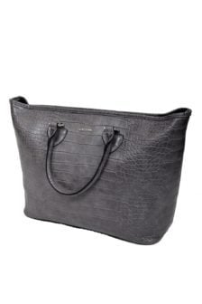 Awm16005 alabama shopper croc grey 014