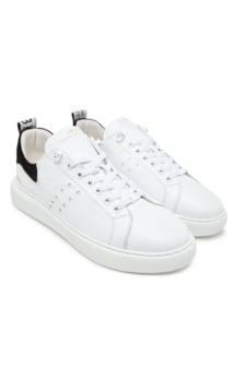 Nubikk scott calf white leather
