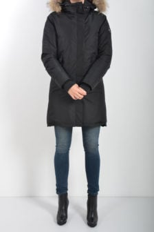 Airforce fishtail functional parka zwart