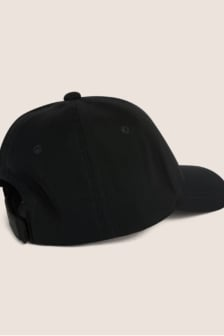 Armani exchange rubber logo hat nero